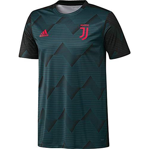 adidas Performance Juventus Turin Pre-Match T-Shirt Herren grün/Magenta, XL