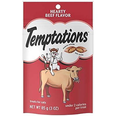 TEMPTATIONS Classic Crunchy and Soft Cat Treats, 3 oz. (12 Pack)