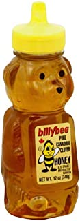 Billy Bee Honey Squeeze Bear 12.0 OZ (Pack of 3)