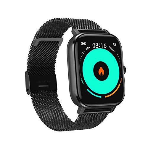 AYZE Reloj Smartwatch Hombre, Batería De 260mAh, Monitorización De Datos De Sueño/Salud, PronóStico del Tiempo, Marcación Personalizada, Envío De Información,Reloj Hombre Deportivo 1