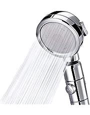 シャワーヘッド 増圧 シャワーヘッド 手元ストップ 高水圧 3階段モード 3D シャワー 420°角度調整 節水 70% 塩素除去 極細水流 水漏れ防止