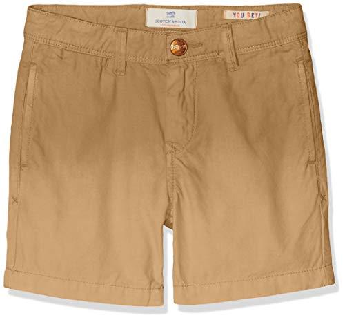 Scotch /& Soda Lightweight Chino Shorts with Washing Pantaloni Bambino