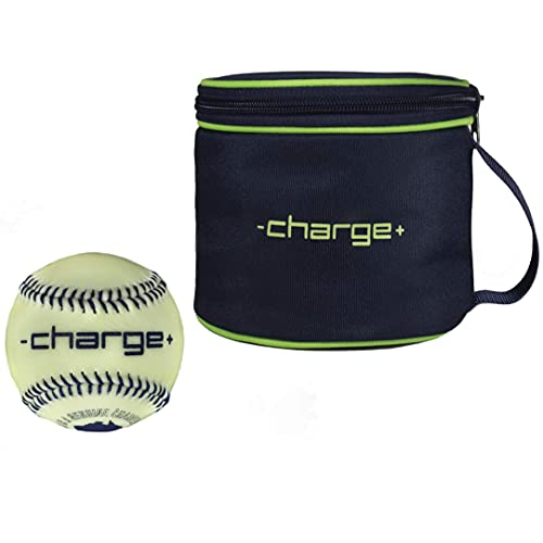 Chargeball Glow in The Dark Baseball - Glow Without Batteries. Youth...
