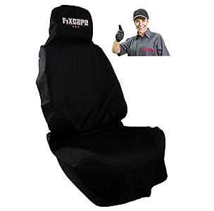 fixcape PRO, robusta funda para asiento de coche universal impermeable, cubierta de asiento de coche para deportes y taller