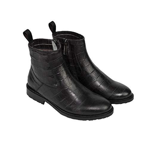 Santoni Chelsea Boot - schwarz, Größe:35