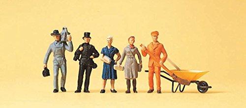 Preiser 14149 - Verschiedene Berufe Figuren, H0, 5-er Set