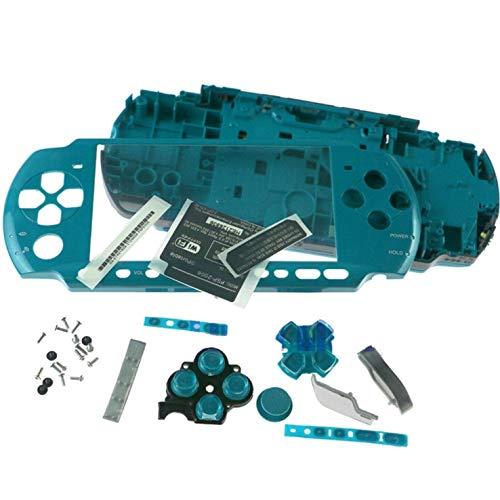 Desconocido Carcasa Completa PSP 3000 3004 Slim Verde Agua