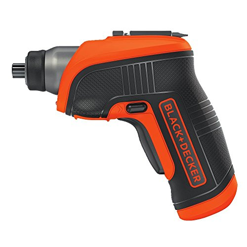 BLACK+DECKER 4V MAX Cordless Screwdriver with LED Light (BDCS30C)
