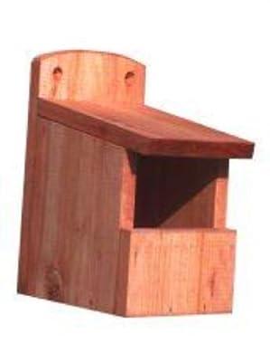 Open Front Wild Bird Nest Box from Goodspeed
