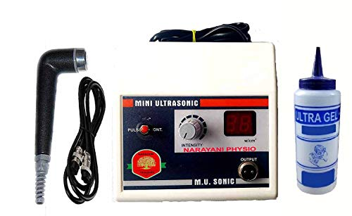 NARAYANI TRADERS® Solutions White Electro Therapy Physiotherapy Equipments Digital Ultrasound/Ultrasonic Therapy Machine Mini US