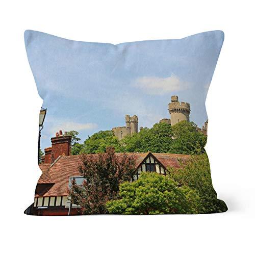 fotobar!style Motivkissen 40 x 40 cm mit Füllung Arundel Castle Sussex