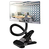 Gosear Clip On Security Mirror,Computer Rearview HD Mirror,Clip On Cubicle Mirror for Personal Safety and Security Desk Rear View Monitors or Anywhere (6.69' 2.95' Rectangle)