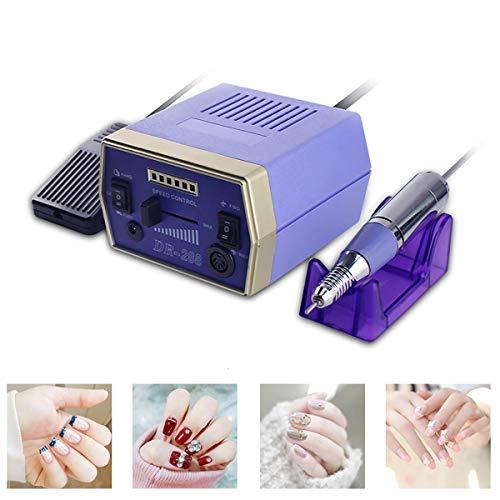 GAYBJ Nail polishing Machine Nail Art Drill Kit Professional Finger Toe Nail Care Electric Nail Polishing Machine Manicure Pedicure for Finger Toe Nail Care