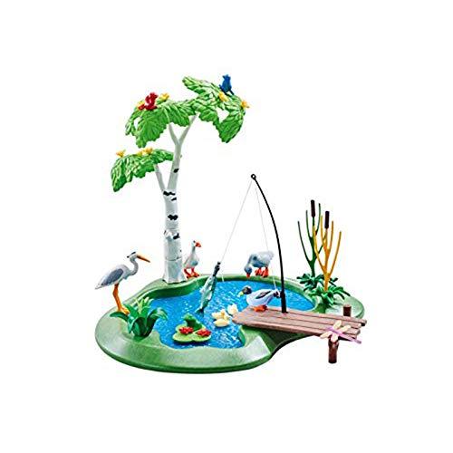Playmobil 6574 Estanque de pesca (embalaje de aluminio)