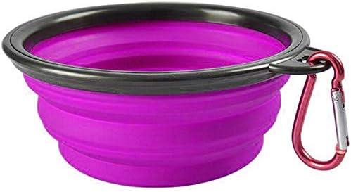 Vabogu Travel Pet Bowl Large 34 oz Purple product image
