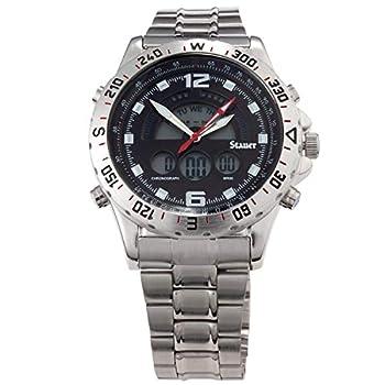 Stauer Men s Compendium Hybrid Stainless Steel Watch