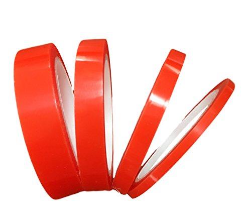 20 Metros Cinta adhesiva de doble cara – Sticky Tape – Extra Fuerte – autoadhesiva de doble, práctico en el hogar, Taller, diseño, Auto,. – Premium – 5 mm 10 mm 15 mm o 20 mm
