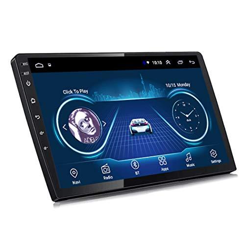 Dr.Lefran Navegación GPS para Coche, Full Touch 9 Pulgadas / 10 Pulgadas Reproductor Multimedia Android 9, Unidad Principal de navegación Universal GPS para Coche,GPS+Universal Wire,9 Inch