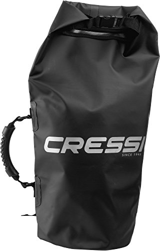 Cressi  Dry Bag Borsa Impermeabile, Unisex, Nero, 2 Lt