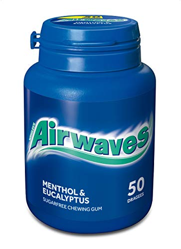 Wrigley's Airwaves Menthol & Eucalyptus Dose, 50 Dragees