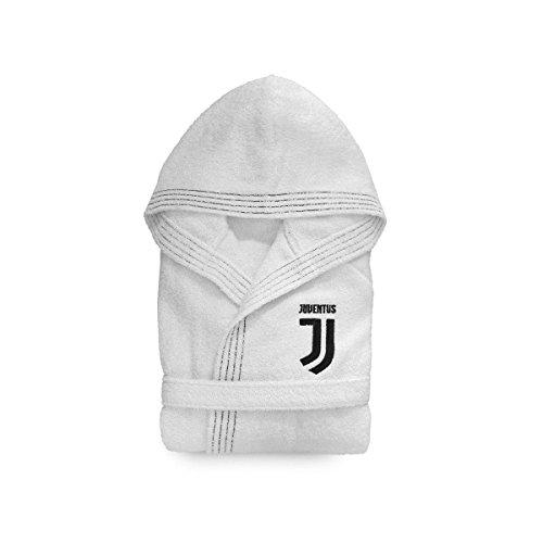Peignoir Juve Juventus officiel pour enfant en éponge R359 12 – 14 ans 4-6 anni bianco