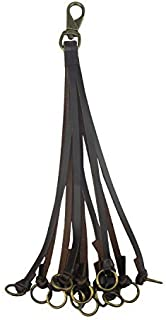 Tourbon Genuine Leather Hunting Duck Strap Game Carrier - Brown