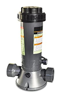 HydroTools by Swimline Economy In-Line Above-Ground Pool Automatic Chlorine Feeder