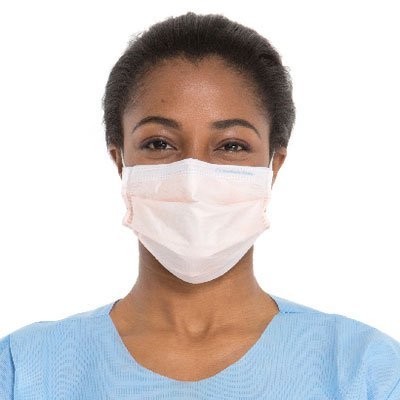 HALYARD FLUIDSHIELD 3 Fog-Free Procedure Mask, w/SO SOFT Lining, 47107 (Case of 400)