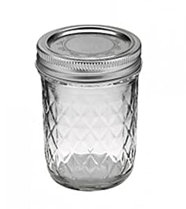 4 x Original Ball Mason Jar – Quilted 8 oz