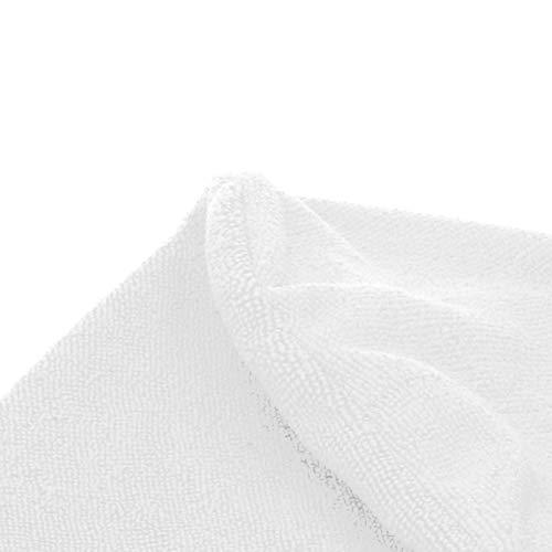 Pwshymi Toalla para el Cabello Wrap Toalla de Secado rápido Sombrero para el Cabello seco Gorro de baño Envuelto en Microfibra Hoteles para Gimnasio(White)