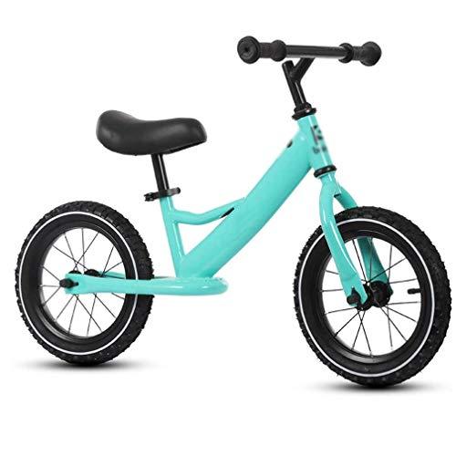 YWSZJ Bicicleta sin Pedales para niños de 2 a 6 años, Principiantes, sin Pedales, Ruedas de 12 Pulgadas