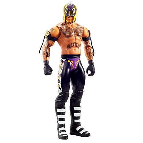 WWE GKT01 - Action Figur (15 cm) Rey Mysterio, Spielzeug Actionfiguren ab 6 Jahren