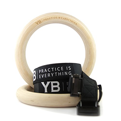 YOGABODY Wooden Gymnastic Rings
