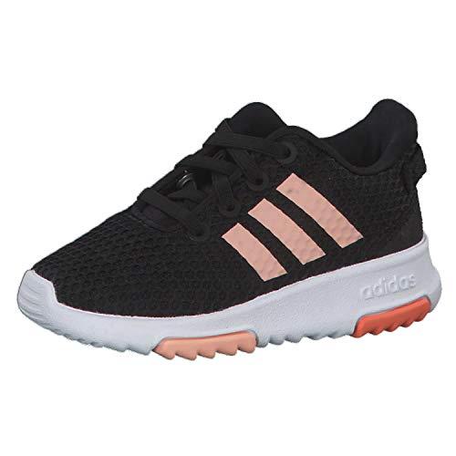 Adidas Racer TR Inf, Zapatillas de Estar por casa Unisex niños, Multicolor (Negbás/Rosbri/Semcor 000), 24 EU