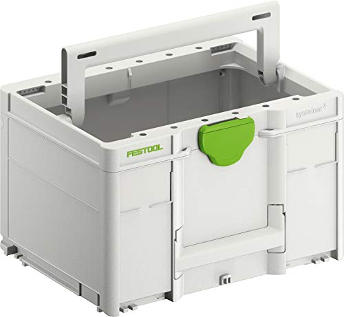 Festool 204866 Systainer³ Toolbox SYS 3 TB M 237 396 x 296 x 237 mm, SYS3 TB