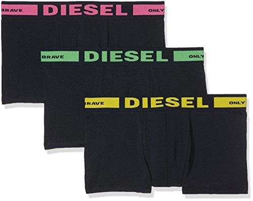 Diesel UMBX-KORYTHREEPACK Boxer Mutande da Uomo, Nero (Nero 09), XL