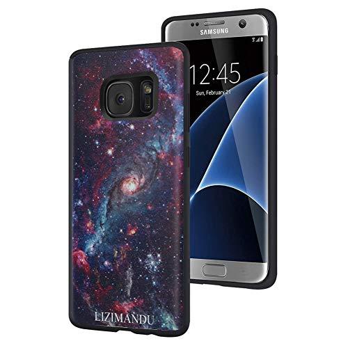Galaxy S7 case,LIZIMANDU Slim Fit Soft TPU Phone Case for Mobile Phone Samsung Galaxy S7(1-Star Night)