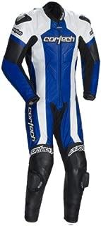 Cortech Adrenaline Leather Blue One-Piece Suit - 2XL
