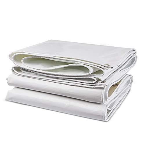 Bâche imperméable, Couverture de remorque de Tente de Sol, Bâches résistantes à l'usure, Blanc (Size : 2 m × 1.5 m)