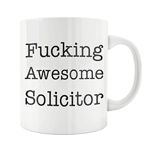15oz White Ceramic Coffee Mug, Solicitor Mug, Solicitor Gift, Solicitor, Solicitor Present, Lawyer Gift, Advocate Gift, Barrister Gift, Attorney, Solicitor, Best Solicitor