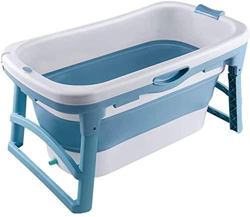 Angelhjq bañera plegable, bebé adulto ducha bañera plegable adulto de la bañera...