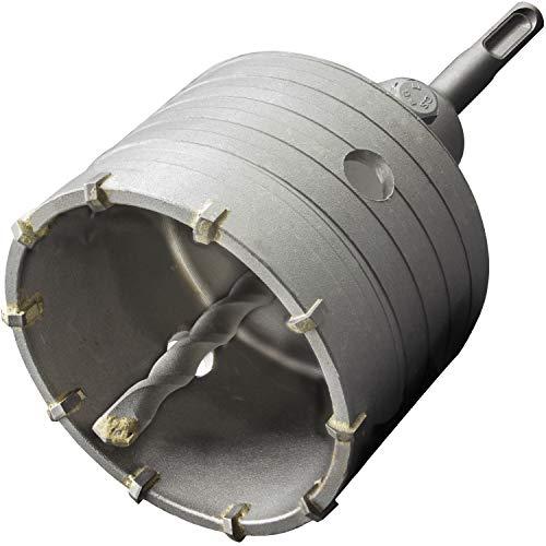 GRAFF® Hohl-Bohrkrone 82mm, Set mit SDS Plus Adapter 110mm und Zentrierbohrer 10x110mm, Steckdosenbohrer für Mauerwerk und Beton, Hammerschlagfest, Dosenbohrer, Bohrkrone für Bohrhammer