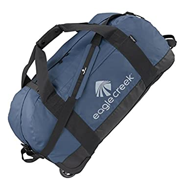 Eagle Creek Travel Gear No Matter What Flashpoint Large Rolling Duffel, Slate Blue