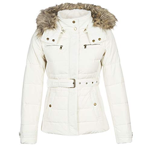 Pepe Jeans Carrie Chaqueta, Marfil (Mousse 808), Large para Mujer