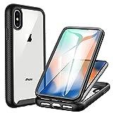 CENHUFO Cover iPhone X/XS, Custodia iPhone X/XS Antiurto con Protezione dello Schermo Integrata 360 Gradi Full...