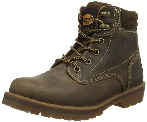 Dockers by Gerli Women's Ankle Boots, Brown Cafe, 8 us