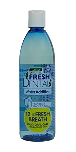 Naturel Promise Fresh Dental Water Additive for Dogs/Cats, 18-Ounce