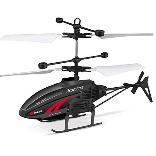 Smmli 2.5Channel Remote Control Airplane Drone RC Helicopter Canales Interiores Hobby Mini Plane Aircraft Toy Gift para niños Resistencia a los choques Gyro Incorporado 2.4GHz consistente