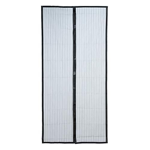 En verano, se usan mosquiteros domésticos, cortinas, mosquiteras, mosquiteros para insectos en el tamiz de la puerta, uso doméstico en verano A1 W80xH210