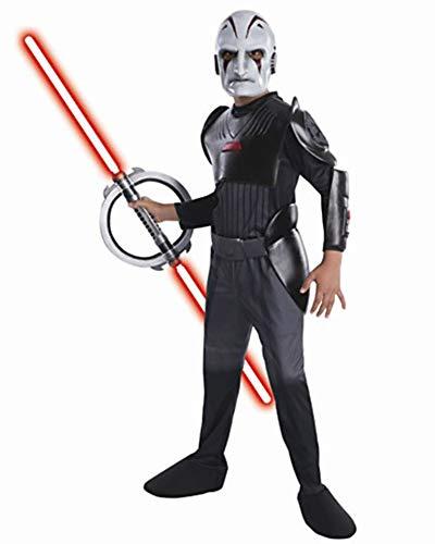 Rubies Officielle Disney Star Wars Inquisitor Deluxe, Costume Enfant – Grande